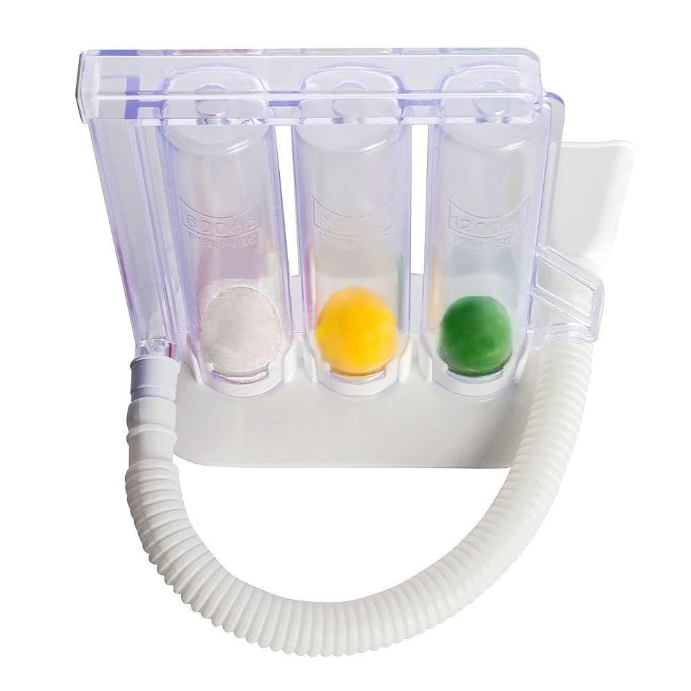 Soins de Santé personnels La Respiration Profonde capacité Pulmonaire Exerciseur Lavable et D'hygiène Respiratoire Exerciseur pour La Réhabilitation