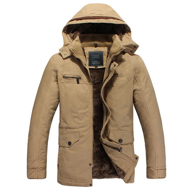 10ca68ffd49 Jackets men winter long section thickened cotton washed jacket mens plus  size 4xl coat jaqueta masculina inverno men s parka