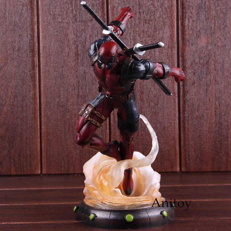 Marvel Legends Hot Toys Deadpool 2 Statue PVC Diorama Gallery Diamond  Select Toys Figure Collectible Model Toy 24cm