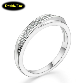 Top Quality Wedding Party Finger Rings For Women Fashion Brand Austrian Crystal Tail Ring Vintage Jewelry DWR314M 8