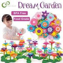 Beads Flowers-Toys Educational-Toys Garden Girls Kids Children for Arrangement-Toy Assembling