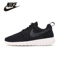 NIKE Original New Arrival Mens ROSHE ONE Running Shoes Mesh Breathable Footwear Super Light High Quality For Men#511881 010