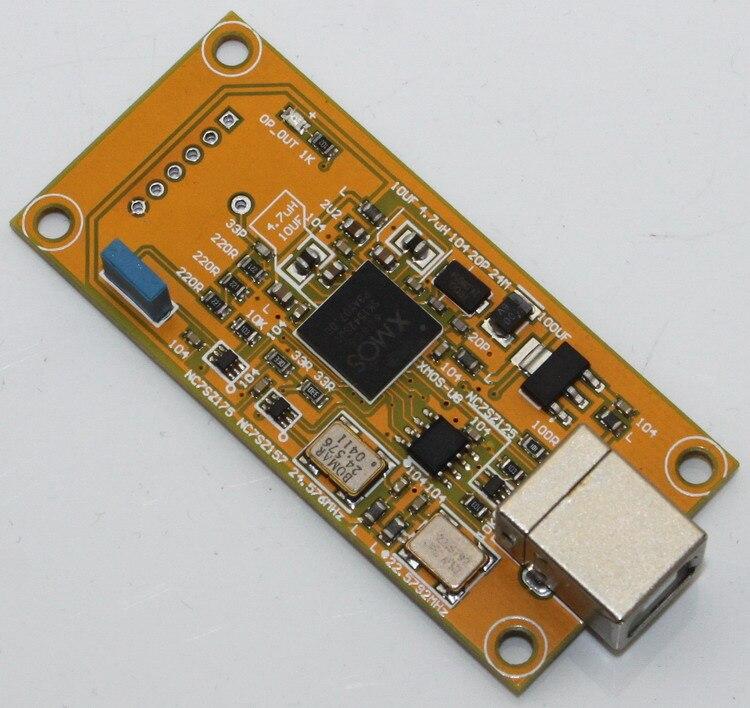 Brise audio XMOS U8 numérique audio USB Support de carte fille ES9018 32BIT (italie Amanero même taille)