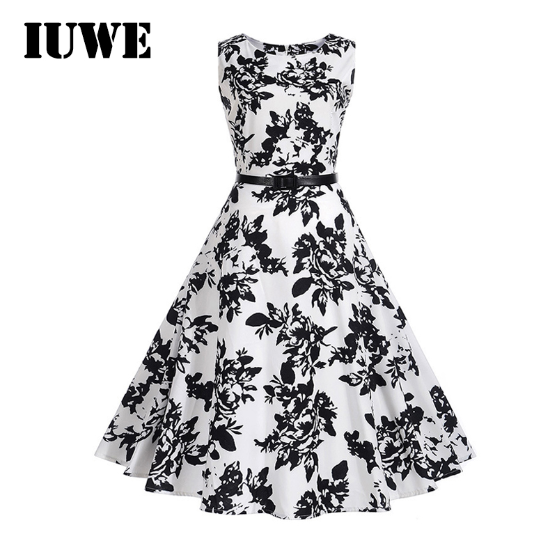 2017 Kids Dresses for Girls Summer Holiday White Sleeveless Black Floral Girl Sundress Children Costume 12 14 Teenagers Clothing kids dresses for girls 2017 girls dresses in black and white floral print dress bow sleeveless tutu teenagers girls clothing 12