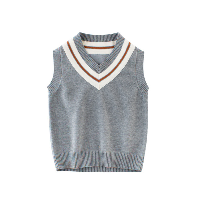 c173f4f6c 2018 Autumn Winter Sleeveless Vest Sweater Top Baby Children ...