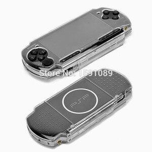 Жесткий чехол с прозрачной защитой для Sony PSP 2000 3000, чехол с кристаллами для контроллеров PSP, аксессуары для игр, бесплатная доставка