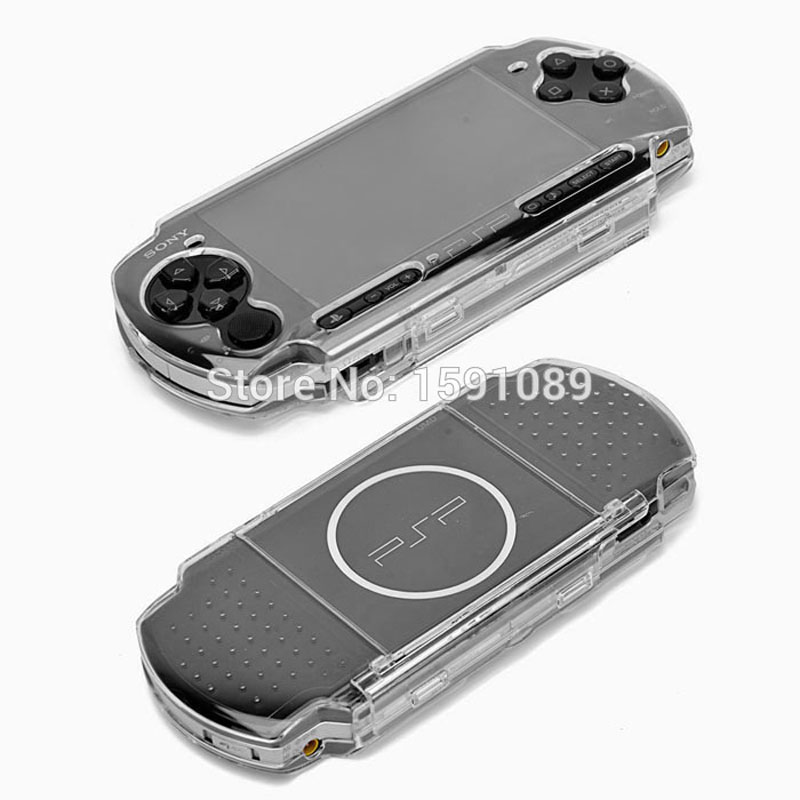 Clear Crystal Protection Hard Case for Sony PSP 2000 3000 Crystal Case Box for PSP Controllers Game Accessories, Free Shipping