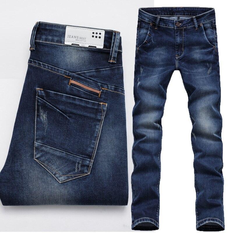 4a0f29db76b44 Men-Jeans-2016-Hot-Sale-Mens-Fashion-Regular-Straight-Jean-Homme-Denim-True- Jeans-For-Men pantalones jeans para hombre