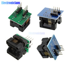 1pcs SOP8 to DIP8 SOP8 turn DIP8 SOIC8 to DIP8 IC Socket Programmer Adapter Socket for Wide 150mil 200mil Smart Electronics