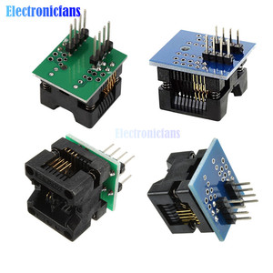1pcs SOP8 to DIP8 SOP8 turn DIP8 SOIC8 to DIP8 IC Socket Programmer Adapter Socket for Wide 150mil 200mil Smart Electronics(China)