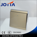 gold color Wall Switch Panel Light Switch 1 Gang 2 Way Push Button 16A,110~250V, 220V high quality