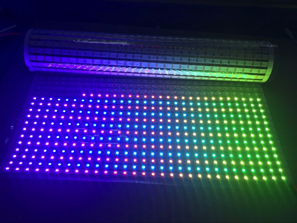 30*40 pixels RGB full color SK6812 Flexible LED Pixel ...