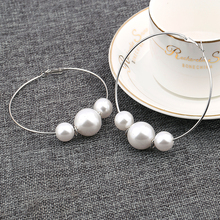 2016 Fashion Earring Jewelry High Polished Huge Size women Clip Quality Clips Woman Wholesale
