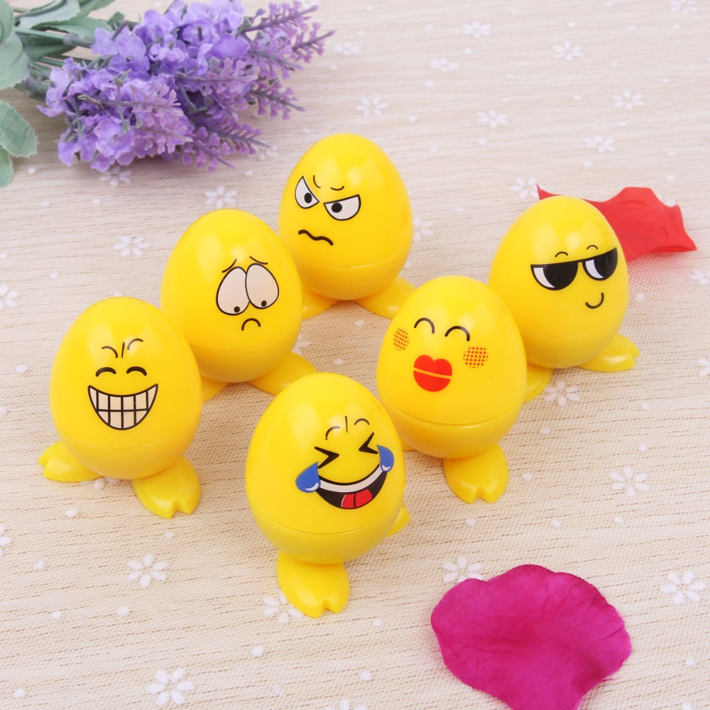 US $7 64 OFF 6pcs Kids Egg Stamp Emoji Smile Cartoon Stamp Children Custom Self Inking Stampers Drawing Toys Party Favor Events Gift in Party