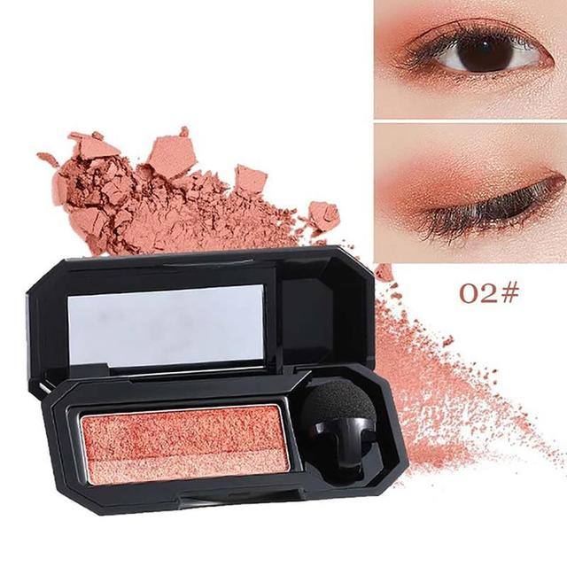 Professional Brand Eyeshadow Pallete Two Color Waterproof Pigment Double Color Shimmer Nude Eyeshadow Makeup Palette 5