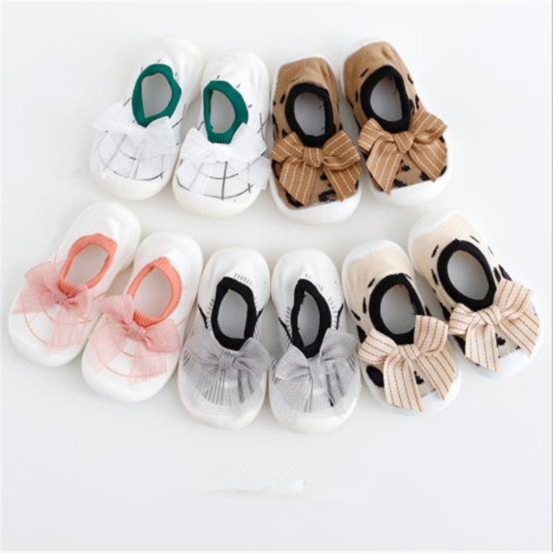 High Quality Attipas Baby Cartoon Toddler Socks Toddler Soft Shoes Sport Shoes  Children Shoes Outsole Girl Shoes Bebe 3