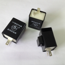 цена на 12V Buzzer Flasher Circuit-proof turn signal controller Motorcycle flasher relay