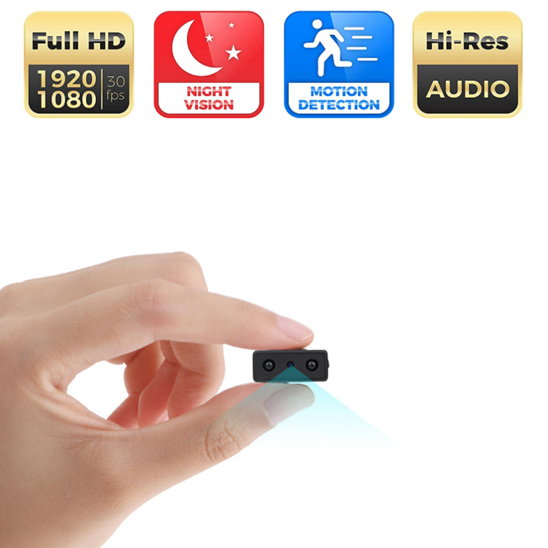 Mini Camera Smallest 1080P Full HD Camcorder Infrared Night Vision Micro Cam Motion Detection Sport DV support hidden TF cardMini Camera Smallest 1080P Full HD Camcorder Infrared Night Vision Micro Cam Motion Detection Sport DV support hidden TF card