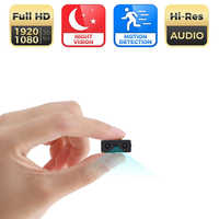 Mini Camera Smallest 1080P Full HD Camcorder Infrared Night Vision Micro Cam Motion Detection Sport DV support hidden TF card