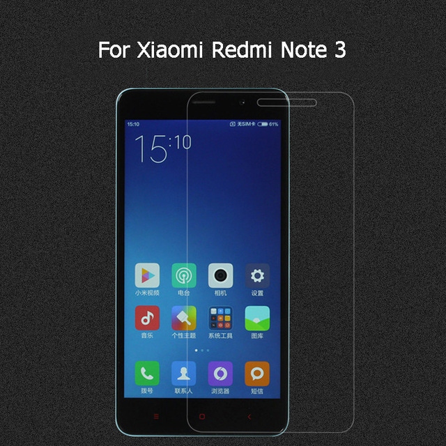 7bb537bbf Redmi note3 Screen Protector Tempered glass Film 9H 2.5D For 5.5