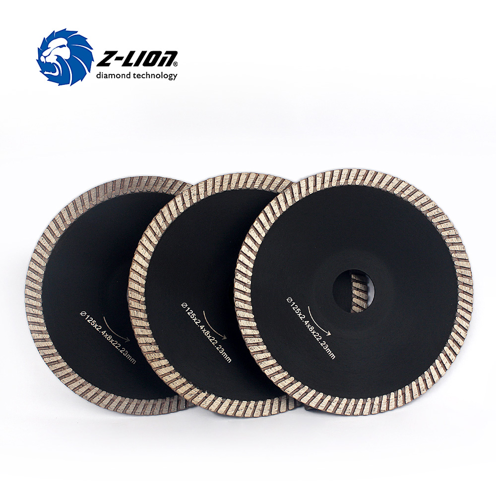 Z-LION 5 3pcs/Lot Diamond Wheels Dish Circular Cutting Wheel Multi Tool Saws For Granite Ceramic Tile Cutting Blade Power Tools