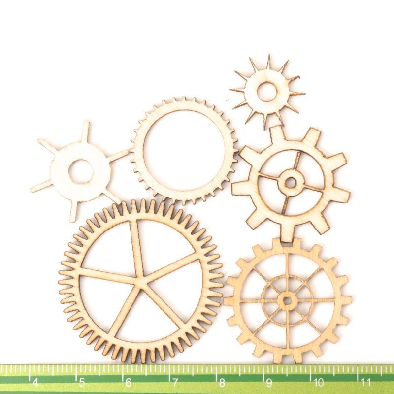 Mixed-Wheel-Gear-Pattern-Natrual-Wooden-Scrapbooking-Hollow-Craft-Round-Random-for-Handmade-Home-Decoration-20 (2)