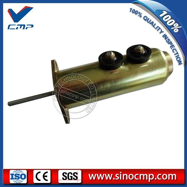 Fuel stop shutdown solenoid valve 6T-4122 6T4122 high quality kd7 47100 0180 fuel stop solenoid valve