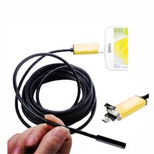 2in1  1080P For Android Micro-USB and Windows USB Endoscope Camera 2m/5M