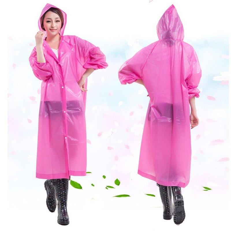 Žene Kišni kaput Krovni pokrivač Vodootporni Prozirni kišni - Kućanski robe - Foto 4