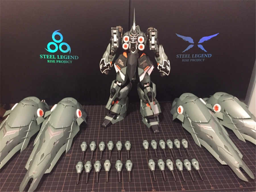 MODEL FANS IN-STOCK steel legend MB metalbuild 1/100 KSHATRIYA Anime Gundam  unicorn Action Figure robot toy