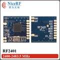 2 шт./лот Новое Прибытие Дистанционного 2.4 Г ФСК Rf-модуль RF2401 (не включая Антенну)