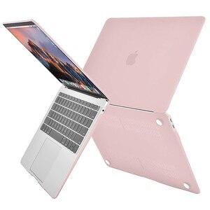 Image 2 - MOSISO קריסטל מט חלבית מקרה כיסוי שרוול עבור Macbook Air 11 אוויר 13 אינץ A1466 A1932 Mac Pro 13 15 רשתית A1706 A1708 A1989