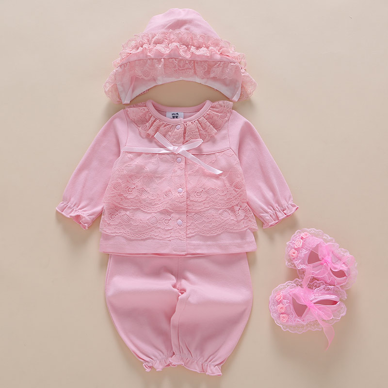 2018 New Sale For Bebek Roupa Infantil Female Baby Spring Split Suit 0 1 Year Old Princess 6-12 Months Newborn Free Shipping