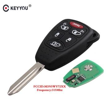 KEYYOU llave de control remoto Fob para Chrylser de la ciudad y país para DODGE Magnum cargador vengador para Jeep Compass patriota M3N5WY72XX 315Mhz