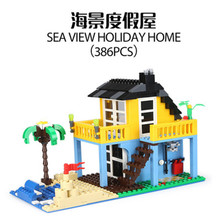 3310 Streetscape series Puzzle toys for children Compatibility with my Duplo best gift Christmas