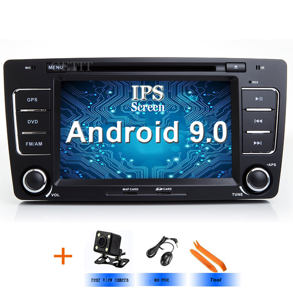 4G Android 9 0 Car DVD Multimedia Player For Skoda Octavia 2009 2013 A 5 WiFi