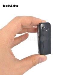 Kebidu popular mini câmera esportiva dv dvr 720p hd dvr + suporte clipe para caminhadas ao ar livre bicicleta gravador de áudio vídeo preto md80