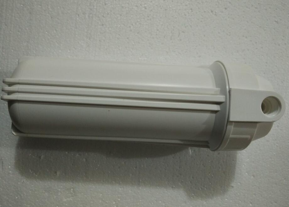 RO Water purifier parts white Europe type housing 10 inches 1/2 290mm
