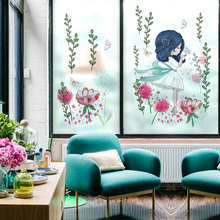 Customized Stained Static Cling Window Film Frosted Opaque Privacy Home Decor Glass Sticker Digital print BLT1217