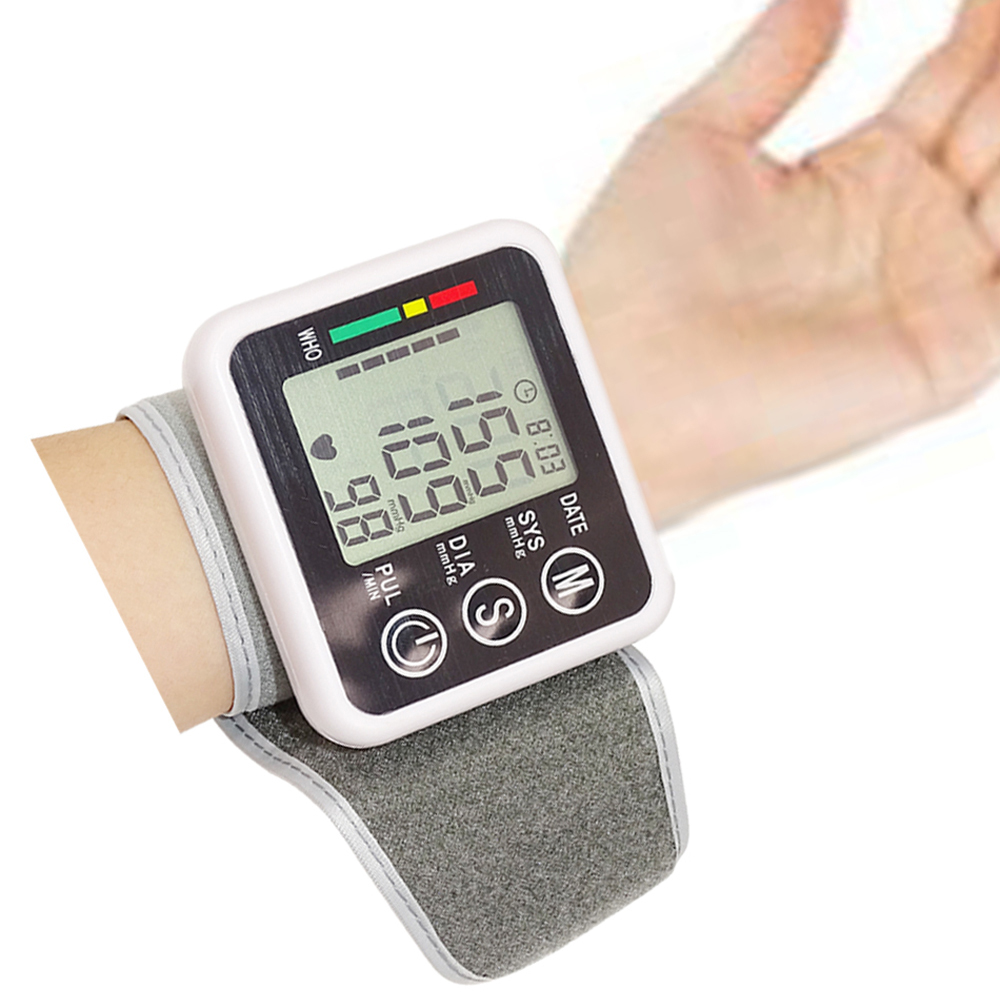 Automatic Wrist Digital Blood Pressure Monitor Health Care Germany Chip Tonometer Meter For Measuring And Pulse Rate Hot Sale