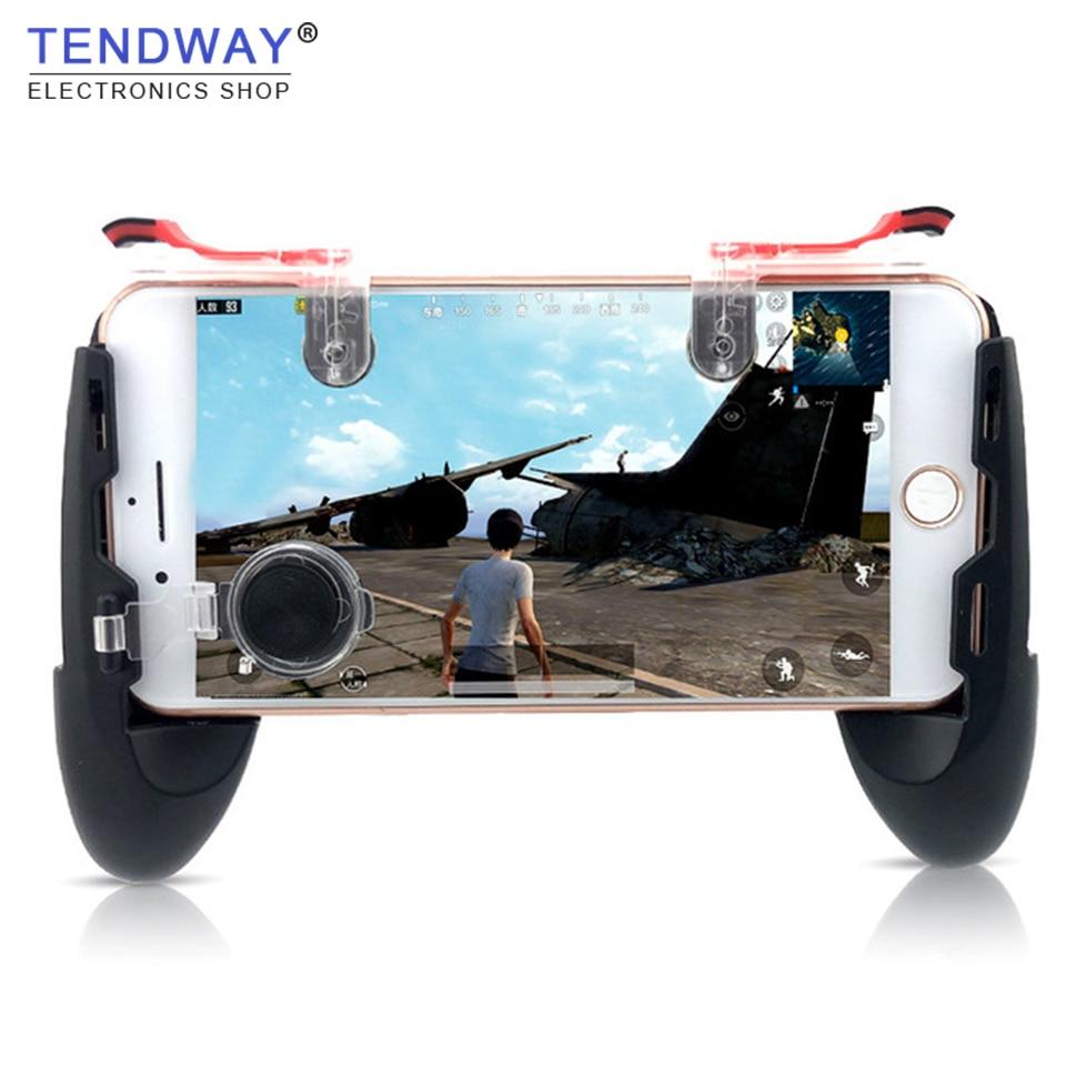 Atirador Pubg Jogo Gamepad Para Controlador do Jogo Do Telefone Móvel Botão de Fogo Para IPhone Facas Para Fora