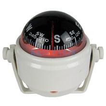 LED Boat Navigation Compass for Marine Sail Ship Vehicle Car White Electronic