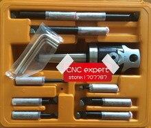 MT3 stożek, F1-12 50mm z MT3 trzpienia i 9 sztuk mm 12mm, nudne zestaw słuchawkowy, marka Zhengzhou, najlepsza jakość