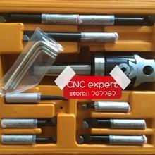 MT3 taper, F1-12 50mm boring head with MT3 shank and 9pcs 12mm boring bars, boring head set, Zhengzhou brand, best quality