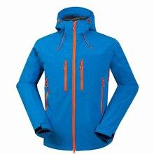 Лыжная куртка Для мужчин ветрозащитный Термальность Softshell сноуборд Лыжный Спорт куртки снег лыжников катание одежда Пеший Туризм Спортивная одежда