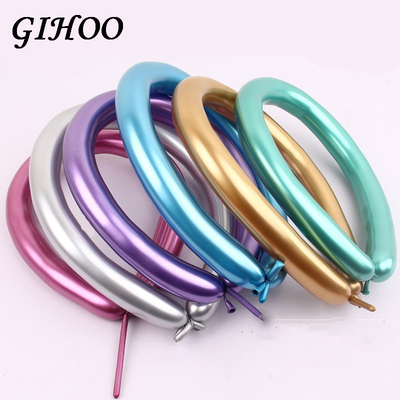 1pc Magic Tying Making Balloon Twist Latex Balloons Knotter Party Ornament 8C