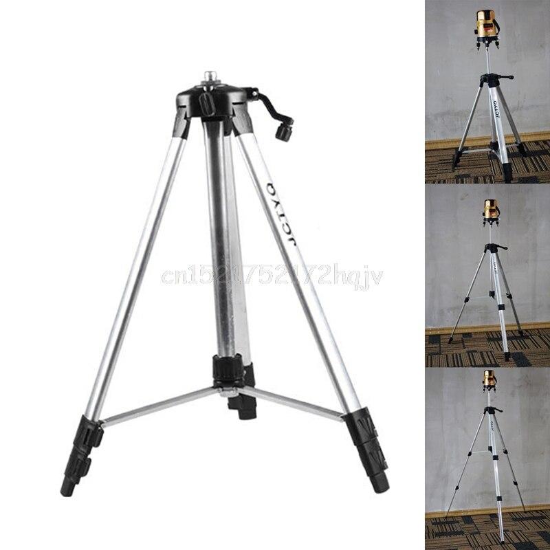 150 cm Stativ Carbon Aluminium Mit 5/8 Adapter Für Laser Stufe Einstellbar O31 dropship