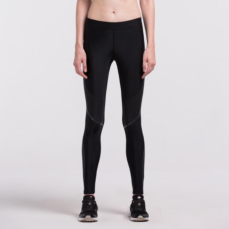 Hot Sales! New Push-up Leggings Summer Men Women Skinny Elastic Patchwork Print Sporting Leggings Pants Fitness Clothing 9
