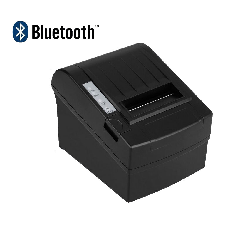 80mm Android bluetooth China thermal pos receipt  printer USB interface with auto cutter also support IOS 80mm pos receipt printer with bluetooth