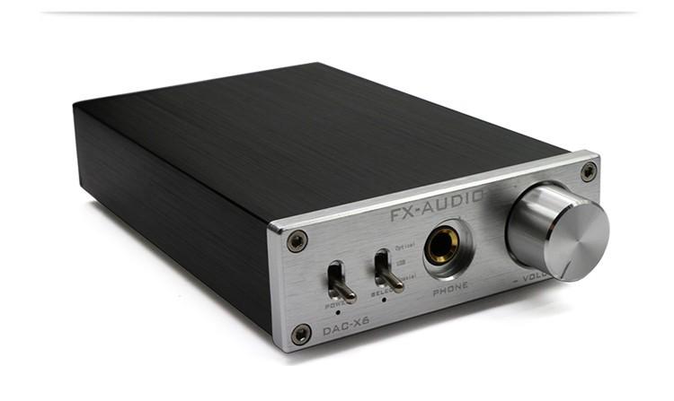 FX-AUDIO DAC-X6を買った!これでハイレゾ音源が楽しめるかな!?